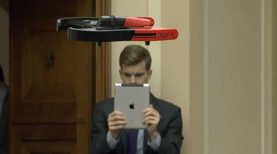 drone parrot ipad