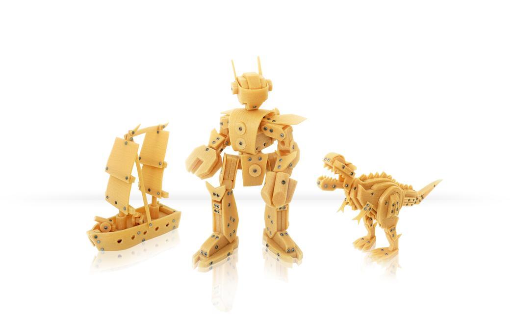 L'agence Caïman Design ne fait pas que dans le High-Tech, la preuve avec ces jouets en boid