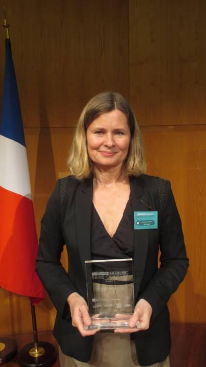 MICRO-BE a recu le grand prix du jury au Challenge des services sans contact