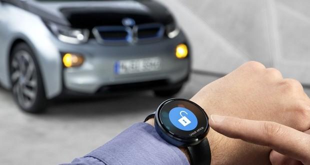 la voiture du futur sera pilot e par une montre connect e. Black Bedroom Furniture Sets. Home Design Ideas