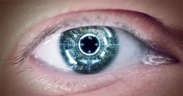 Oeil connecté