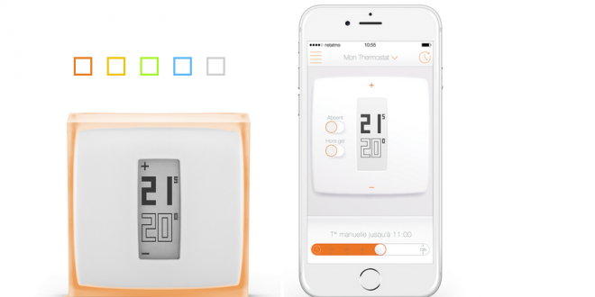 netatmo le thermostat connect pr f r des fran ais. Black Bedroom Furniture Sets. Home Design Ideas