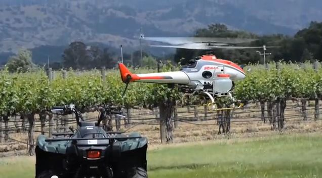 yamaha drones