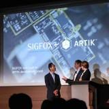 Sigfox et Samsung