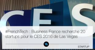 concours business France CES 2016