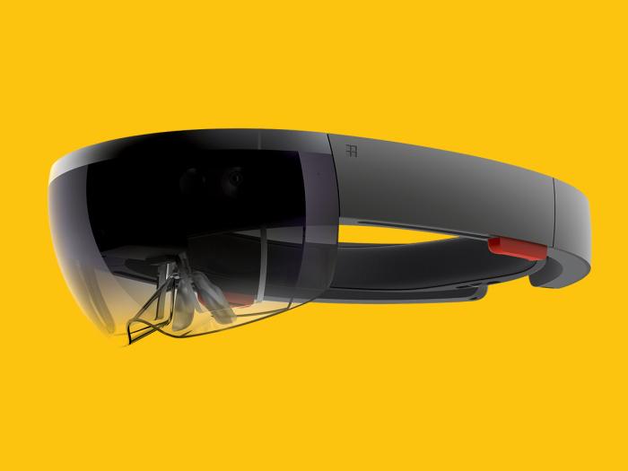 HoloLens casque de réalité virtuelle
