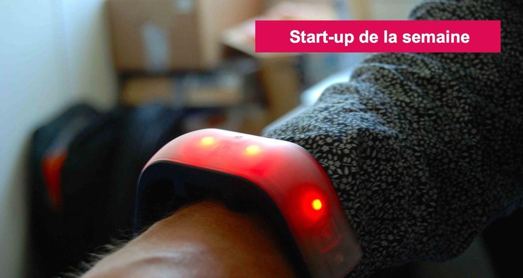 lucie labs startup bracelet connecté concert festival
