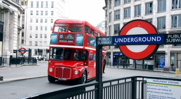 Bus Metro Londres IoT big data