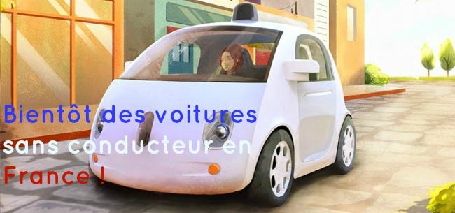 Google car. Voiture connecté. Loi de transition énergétique