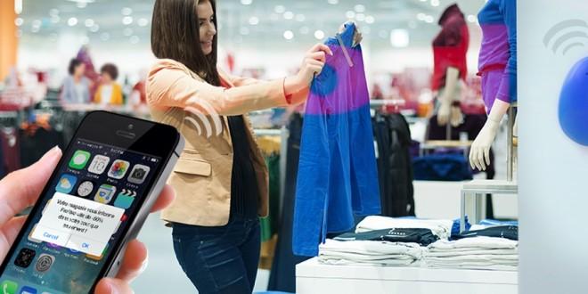 vendeur augmenté magasin connecté