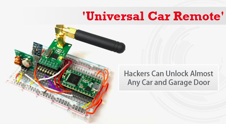 Rolljam est un systeme peu onéreux, 30$, permettant de hacker toutes les voitures et portes de garages.