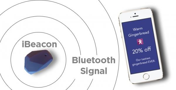 Le beacon à l'avantage de fonctionner à base de transmetteurs Bluetooth basse consommation à faibles coûts