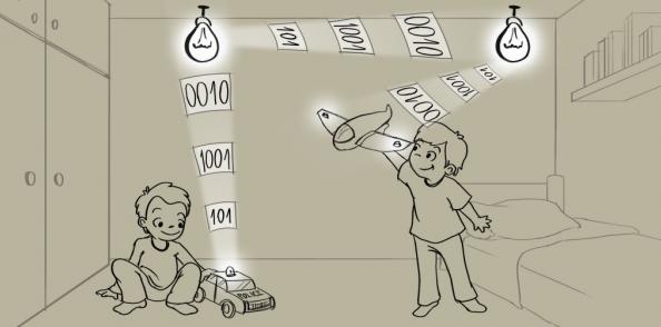 """Disney développe un """"Internet des Jouets"""" connecté grâce à la lumière"""