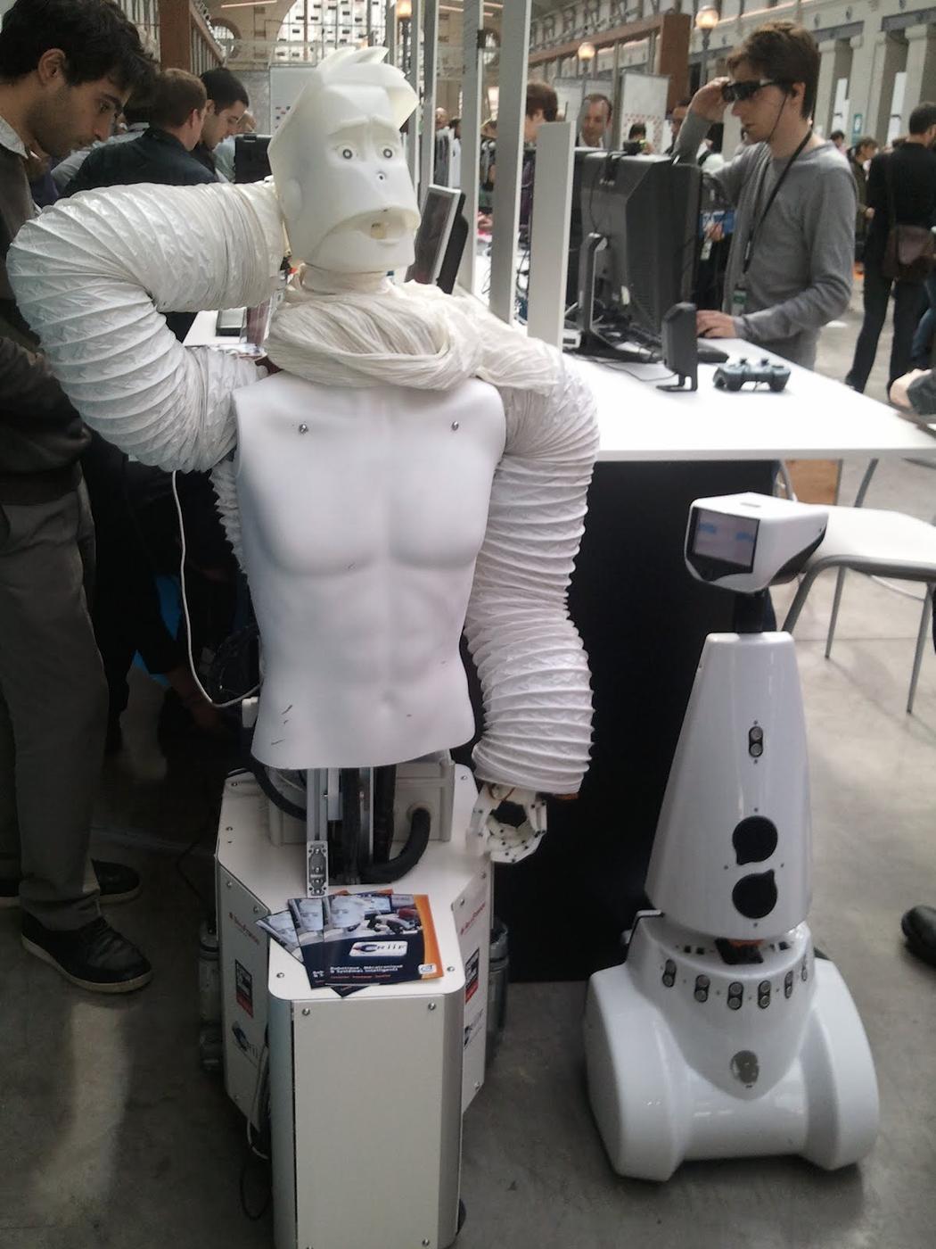 À voir sur le salon : Sami, le robot semi-humanoïde qui vous veut du bien.