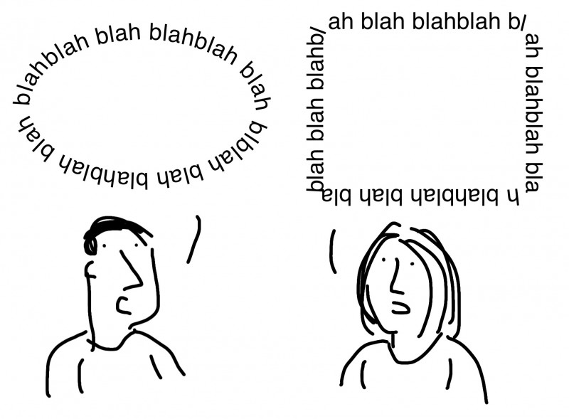 Quand on parle sans se comprendre