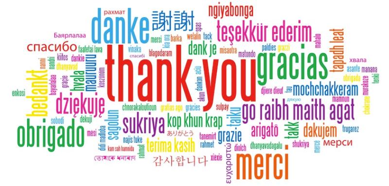 Merci! Thank you! Danke!