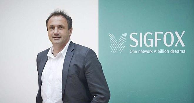 Ludovic le Moan, président exécutif de Sigfox. D'après lesechos.fr, L'opérateur va se déployer dans dix grandes villes américaines d'ici juin 2016.