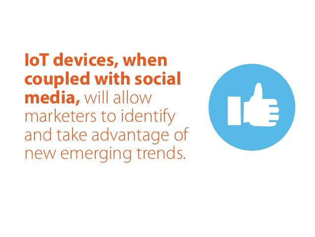 Résumé de l'apport de l'IoT dans le monde du marketing