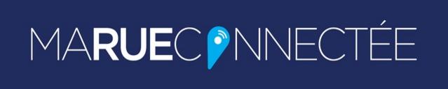 logo du site avec un fond violet et le texte écrit en blanc