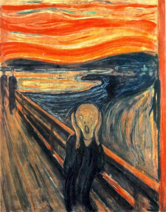 Le Cri, Edvard Munch, 1893