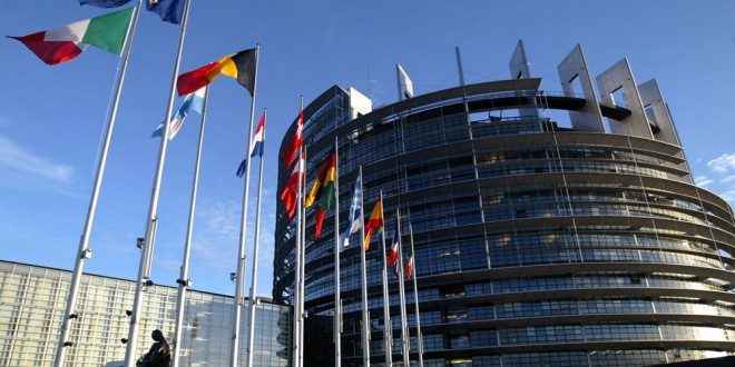 Le Parlement Européen à Bruxelles