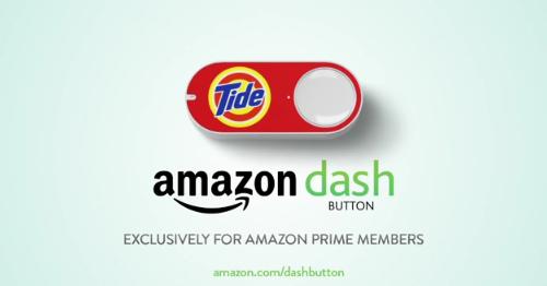 L'objet connecté Dash Button d'Amazon