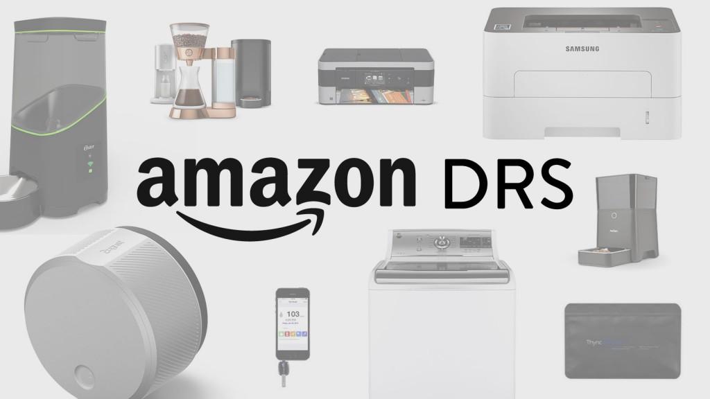 L'Amazon DRS et des objets compatibles.