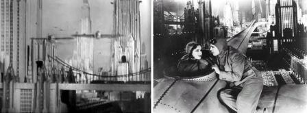 Just Imagine, réalisateur David Butler, 1930 : vision de New York en 1980
