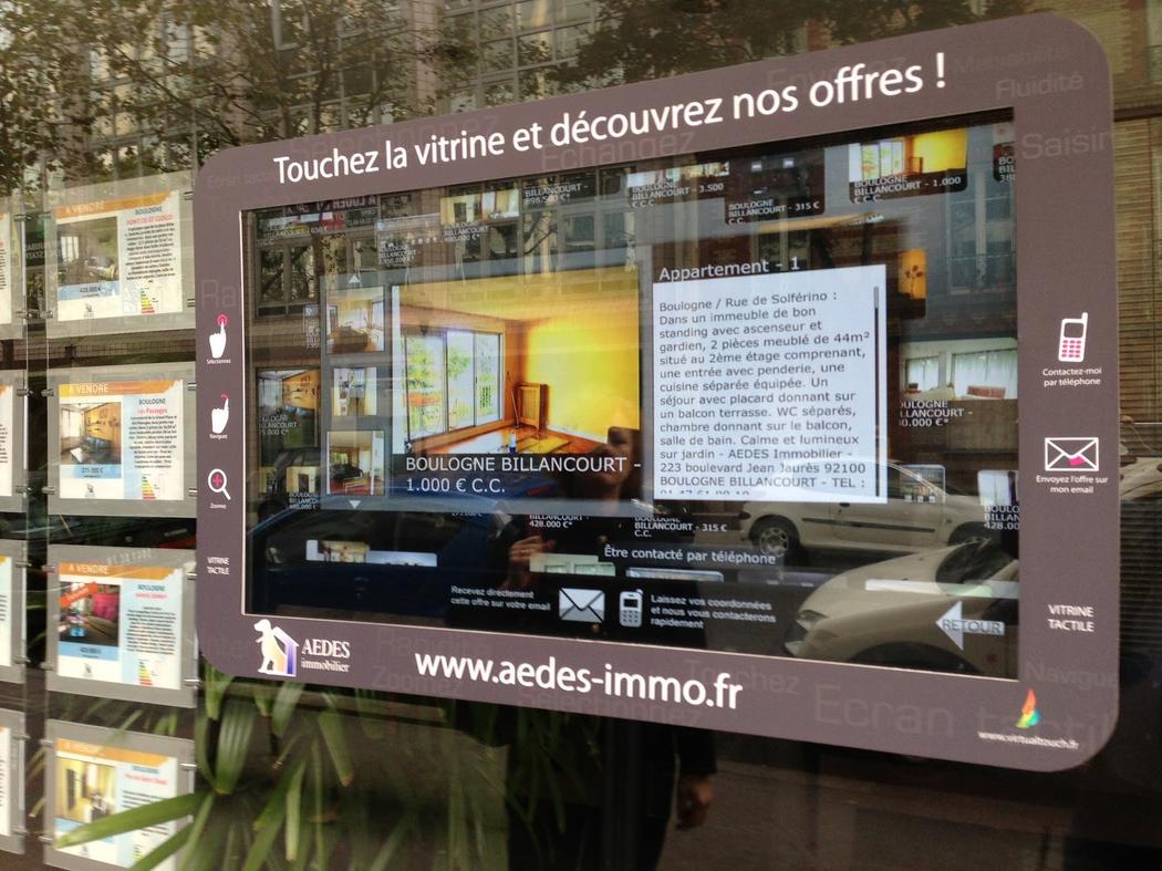 Les agences immobili res dans la r volution digitale humaniste for Annonce immobiliere agence