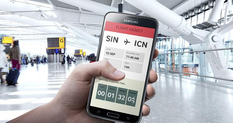 Samsung et le transport connectée