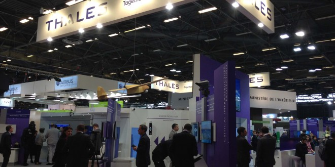 Stand Thales Milipol 2015