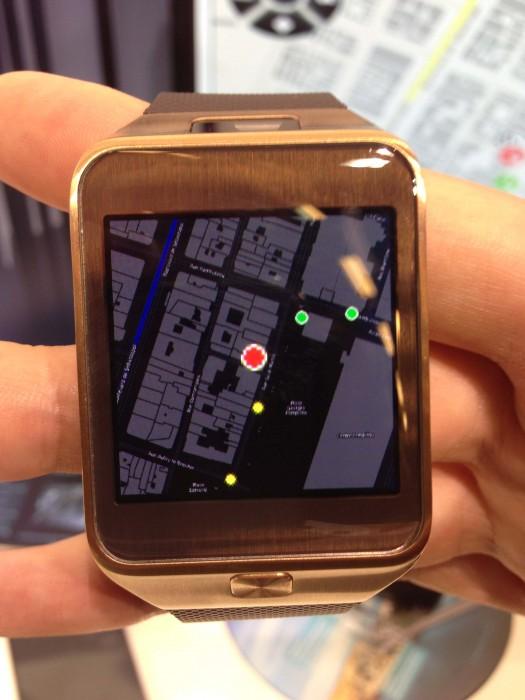 Smartwatch 6W4U en action