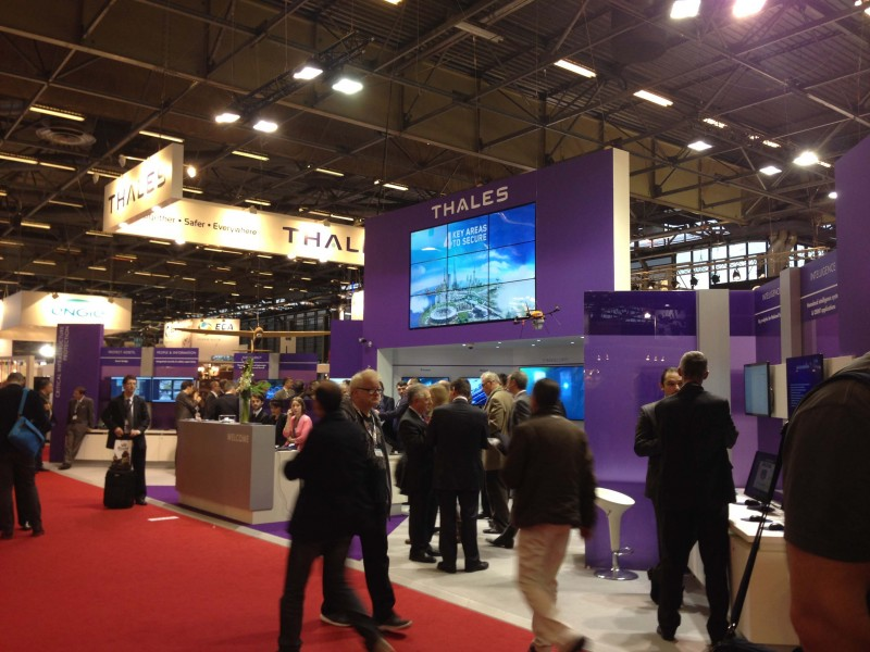 Milipol : Thales stand