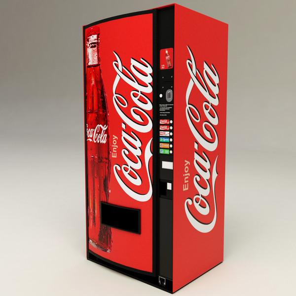 Coca-Cola machine connectée