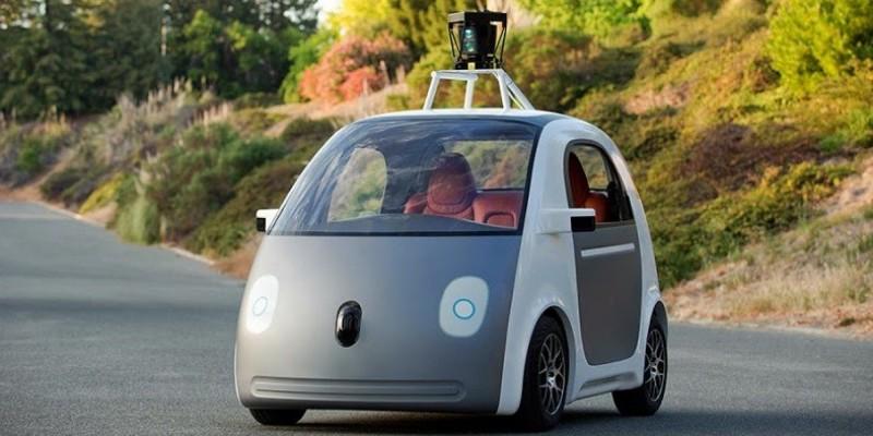 la voiture qui se conduit seule de google