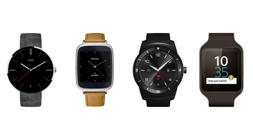 montres sous android wear