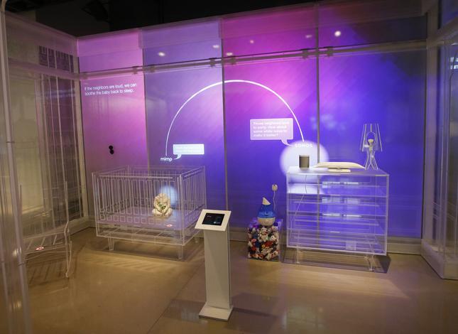 chambre d'enfant connectée