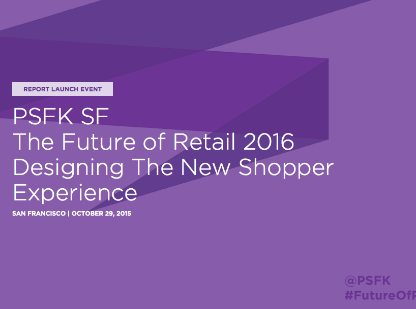 The Future Of Retail édition 2016