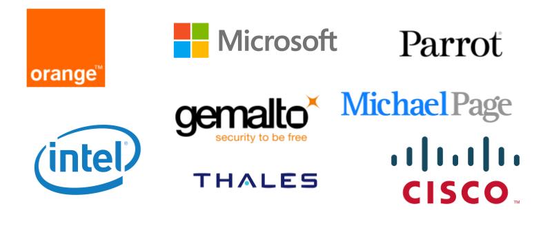 les entreprises de l'IoT