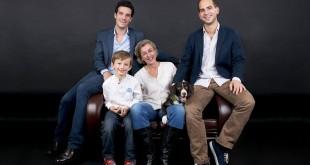portrait de famille des fondateurs de weenect