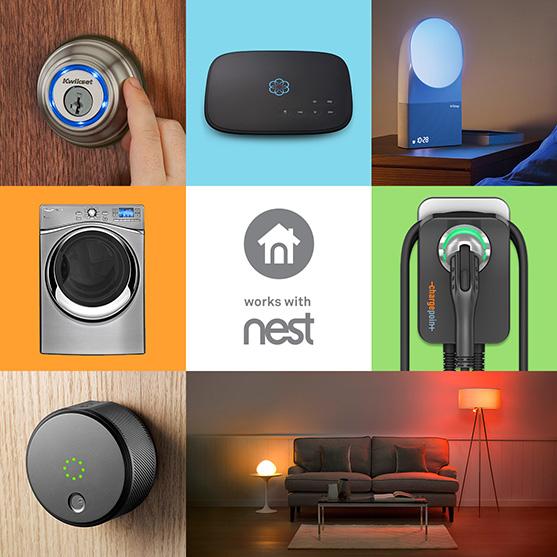 produits fonctionnant avec nest