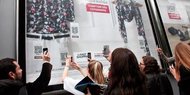 Affichages d'AFA JCDecaux en partenariat avec PowaTag au Danemark