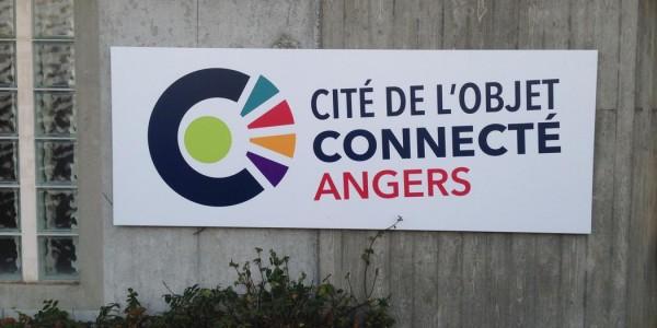 Cité de l'Objet Connecté Angers Panneau