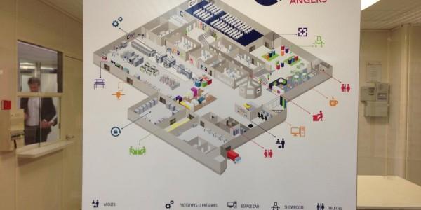 Cité de l'Objet Connecté Angers Plan