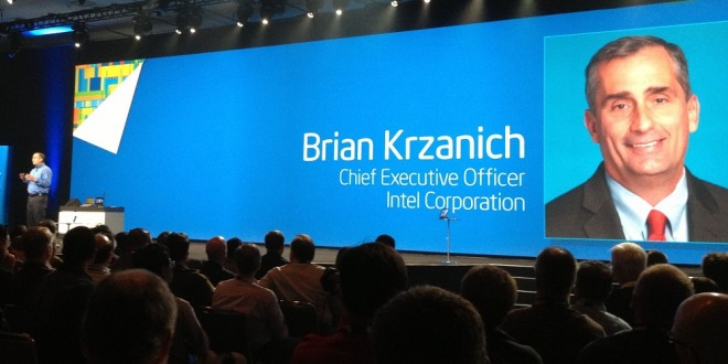 Intel Brian Krzanich big data