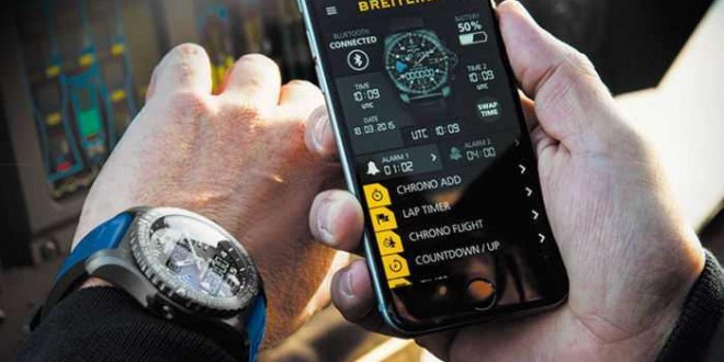 Cloud computing, Breitling connecté
