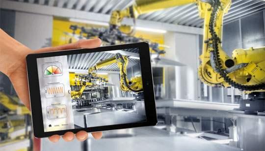 iot industriels robot mesure