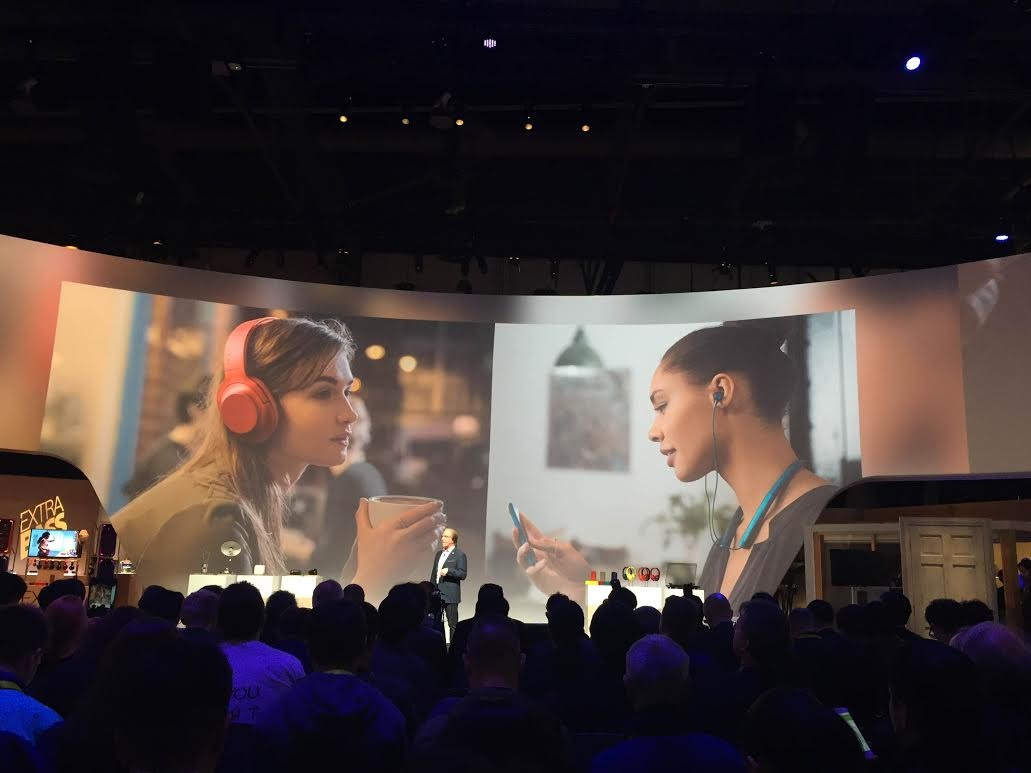 CES 2016 Sony marques