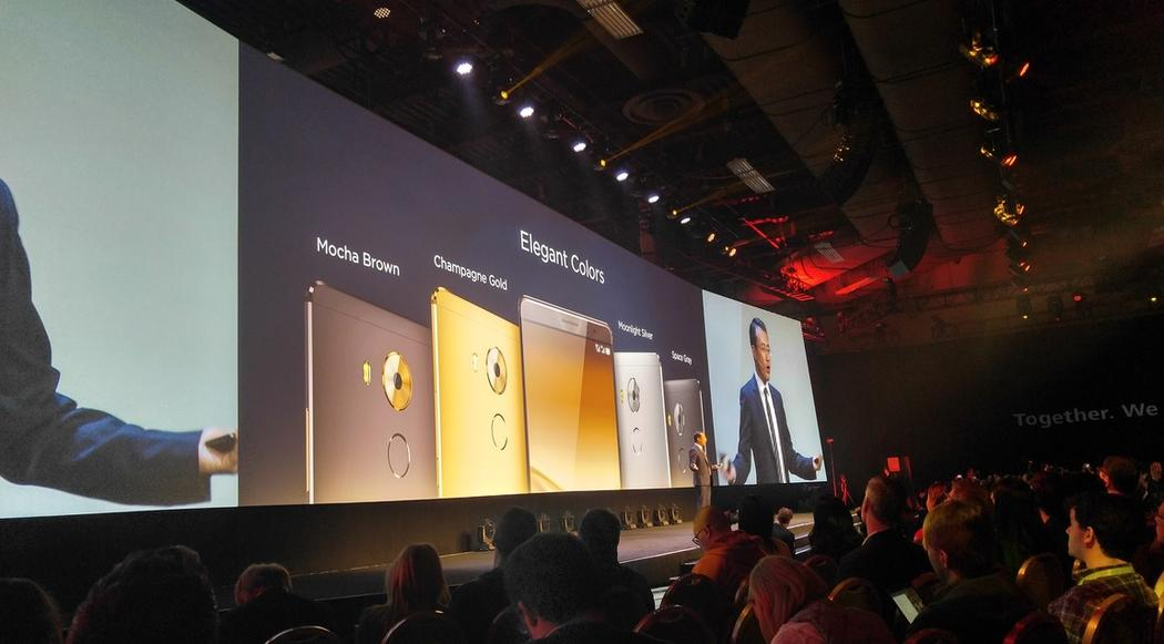 ces huawei mate 8 show