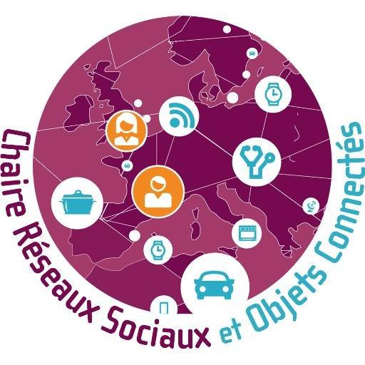 logo chaire réseaux sociaux et objets connectés